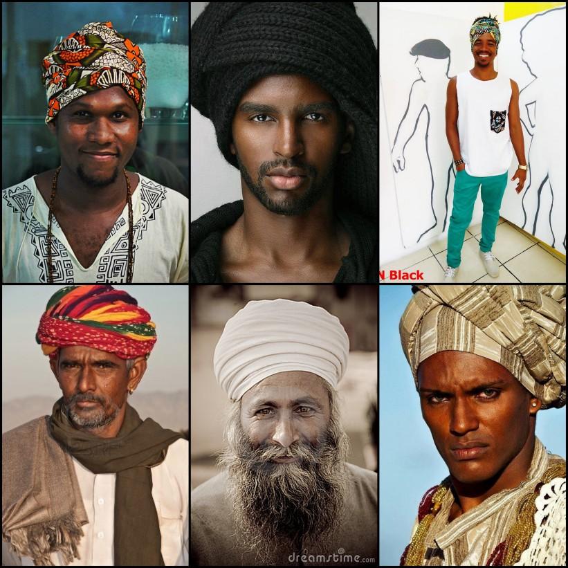 Homens de turbante   Foto: Internet