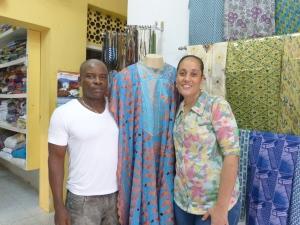 Yomi e Adriana, proprietários da Moda Africana | Foto Cor & Estilo